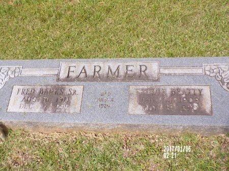 FARMER, TRUDIE - Lincoln County, Louisiana   TRUDIE FARMER - Louisiana Gravestone Photos