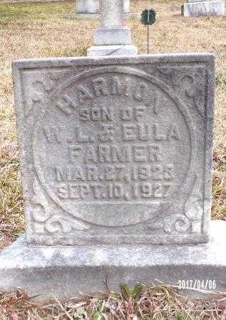 FARMER, HARMON - Lincoln County, Louisiana   HARMON FARMER - Louisiana Gravestone Photos