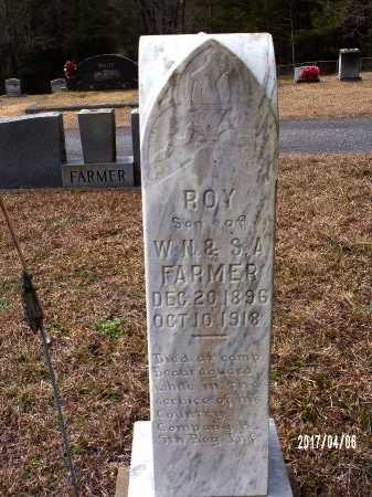 FARMER  , ROY  (VETERAN WWI, DOD)  - Lincoln County, Louisiana | ROY  (VETERAN WWI, DOD)  FARMER   - Louisiana Gravestone Photos
