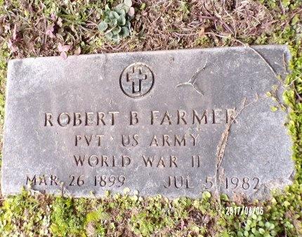 FARMER , ROBERT BENJAMIN (VETERAN WWII) - Lincoln County, Louisiana | ROBERT BENJAMIN (VETERAN WWII) FARMER  - Louisiana Gravestone Photos