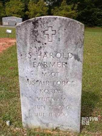 FARMER  , SAM HAROLD (VETERAN 2 WARS) - Lincoln County, Louisiana | SAM HAROLD (VETERAN 2 WARS) FARMER   - Louisiana Gravestone Photos