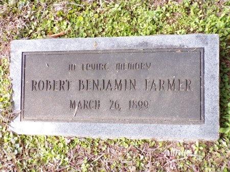 FARMER, ROBERT BENJAMIN - Lincoln County, Louisiana   ROBERT BENJAMIN FARMER - Louisiana Gravestone Photos