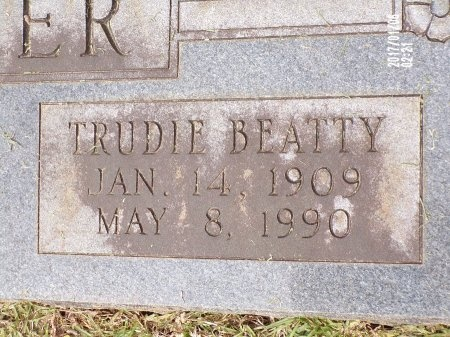FARMER, TRUDIE (CLOSE UP) - Lincoln County, Louisiana | TRUDIE (CLOSE UP) FARMER - Louisiana Gravestone Photos