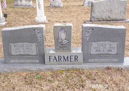FARMER, WILLIE LEE - Lincoln County, Louisiana | WILLIE LEE FARMER - Louisiana Gravestone Photos