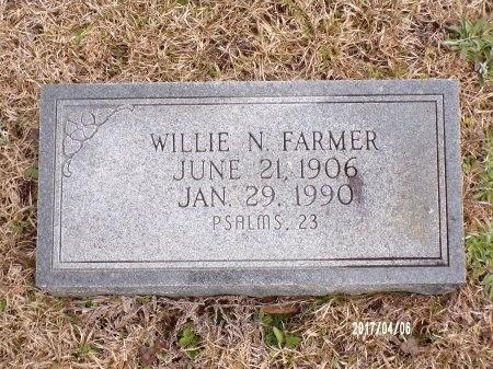 FARMER, WILLIE N - Lincoln County, Louisiana   WILLIE N FARMER - Louisiana Gravestone Photos