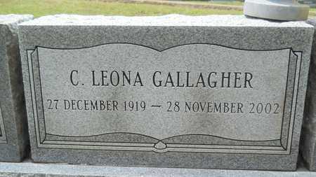 GALLAGHER, C LEONA - Lincoln County, Louisiana | C LEONA GALLAGHER - Louisiana Gravestone Photos