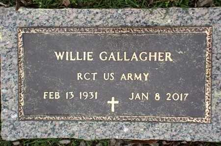 GALLAGHER, WILLIE (VETERAN) - Lincoln County, Louisiana | WILLIE (VETERAN) GALLAGHER - Louisiana Gravestone Photos