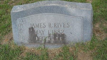 RIVES, JAMES ROBERT - Lincoln County, Louisiana | JAMES ROBERT RIVES - Louisiana Gravestone Photos