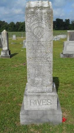 RIVES, J R - Lincoln County, Louisiana | J R RIVES - Louisiana Gravestone Photos