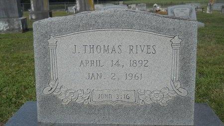 RIVES, J THOMAS - Lincoln County, Louisiana | J THOMAS RIVES - Louisiana Gravestone Photos