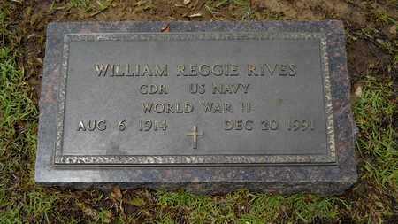 RIVES, WILLIAM REGGIE (VETERAN WWII) - Lincoln County, Louisiana   WILLIAM REGGIE (VETERAN WWII) RIVES - Louisiana Gravestone Photos