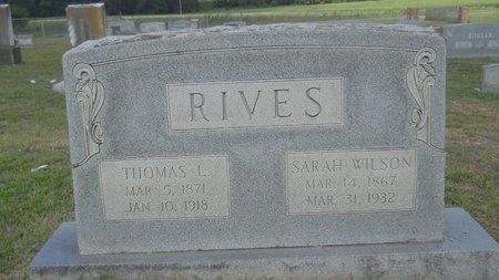 RIVES, THOMAS L - Lincoln County, Louisiana | THOMAS L RIVES - Louisiana Gravestone Photos