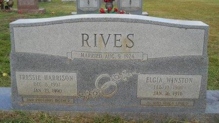 RIVES, TRESSIE - Lincoln County, Louisiana   TRESSIE RIVES - Louisiana Gravestone Photos