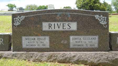 RIVES, LORETA - Lincoln County, Louisiana | LORETA RIVES - Louisiana Gravestone Photos