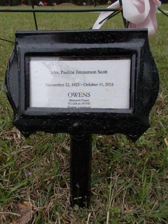 JIMMERSON SCOTT, PAULINE (OBIT) - Lincoln County, Louisiana | PAULINE (OBIT) JIMMERSON SCOTT - Louisiana Gravestone Photos