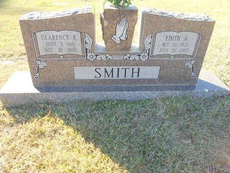 SMITH, EDITH A - Lincoln County, Louisiana | EDITH A SMITH - Louisiana Gravestone Photos