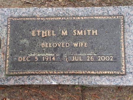 SMITH, ETHEL M - Lincoln County, Louisiana | ETHEL M SMITH - Louisiana Gravestone Photos