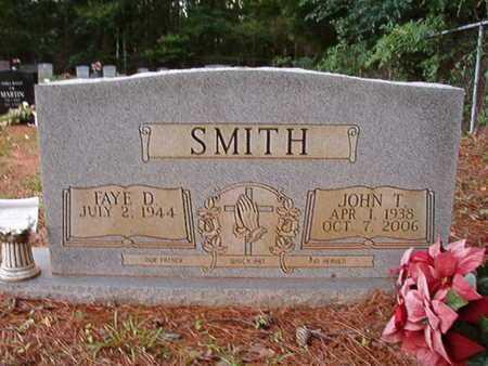 SMITH, JOHN T - Lincoln County, Louisiana | JOHN T SMITH - Louisiana Gravestone Photos