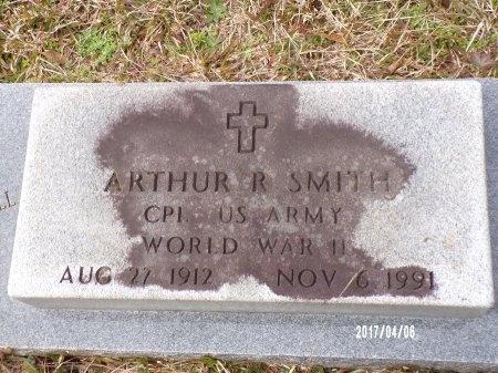 SMITH  , ARTHUR REVELL (VETERAN WWII) - Lincoln County, Louisiana   ARTHUR REVELL (VETERAN WWII) SMITH   - Louisiana Gravestone Photos