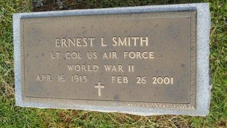 SMITH, ERNEST LEON (VETERAN WWII) - Lincoln County, Louisiana | ERNEST LEON (VETERAN WWII) SMITH - Louisiana Gravestone Photos