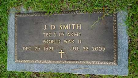 SMITH, J D (VETERAN WWII) - Lincoln County, Louisiana | J D (VETERAN WWII) SMITH - Louisiana Gravestone Photos