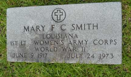 SMITH, MARY F C (VETERAN WWII) - Lincoln County, Louisiana | MARY F C (VETERAN WWII) SMITH - Louisiana Gravestone Photos