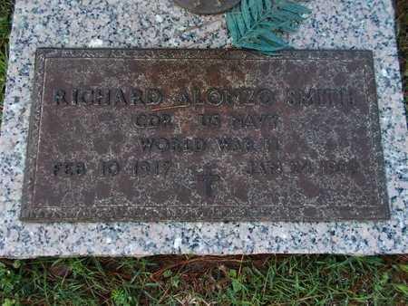 SMITH, RICHARD ALONZO (VETERAN WWII) - Lincoln County, Louisiana | RICHARD ALONZO (VETERAN WWII) SMITH - Louisiana Gravestone Photos