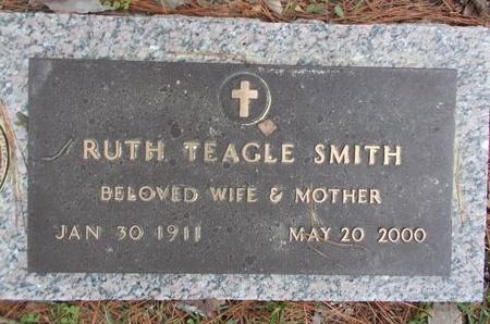 SMITH, RUTH TEAGLE - Lincoln County, Louisiana | RUTH TEAGLE SMITH - Louisiana Gravestone Photos