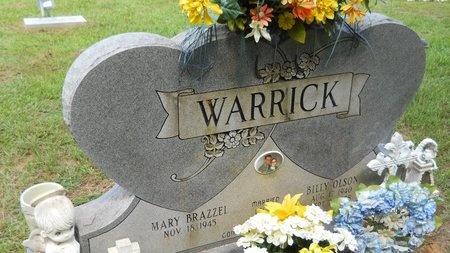 WARRICK, BILLY OLSON - Lincoln County, Louisiana   BILLY OLSON WARRICK - Louisiana Gravestone Photos