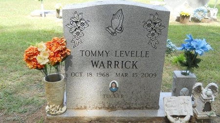 """WARRICK, TOMMY LEVELLE """"TUCKER"""" - Lincoln County, Louisiana   TOMMY LEVELLE """"TUCKER"""" WARRICK - Louisiana Gravestone Photos"""