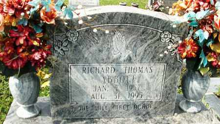 ABBOTT, RICHARD THOMAS - Livingston County, Louisiana | RICHARD THOMAS ABBOTT - Louisiana Gravestone Photos