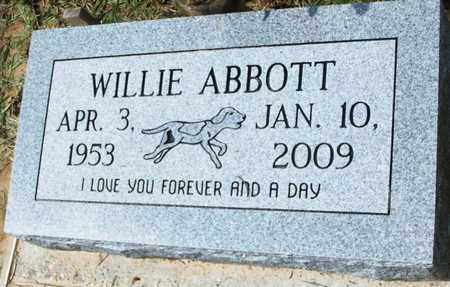 ABBOTT, WILLIE - Livingston County, Louisiana | WILLIE ABBOTT - Louisiana Gravestone Photos