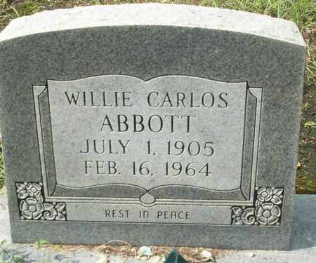 ABBOTT, WILLIE CARLOS - Livingston County, Louisiana | WILLIE CARLOS ABBOTT - Louisiana Gravestone Photos