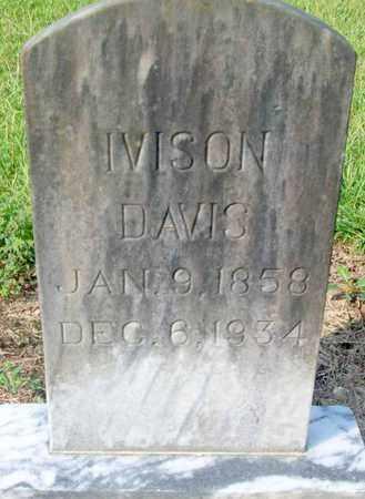 DAVIS, IVISON - Livingston County, Louisiana | IVISON DAVIS - Louisiana Gravestone Photos