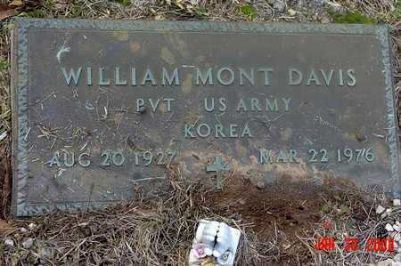DAVIS, WILLIAM MONT  (VETERAN KOR) - Livingston County, Louisiana | WILLIAM MONT  (VETERAN KOR) DAVIS - Louisiana Gravestone Photos