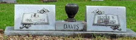 DAVIS, ZACK - Livingston County, Louisiana | ZACK DAVIS - Louisiana Gravestone Photos