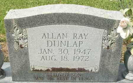 DUNLAP, ALLAN RAY - Livingston County, Louisiana   ALLAN RAY DUNLAP - Louisiana Gravestone Photos