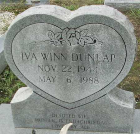 DUNLAP, IVA - Livingston County, Louisiana | IVA DUNLAP - Louisiana Gravestone Photos