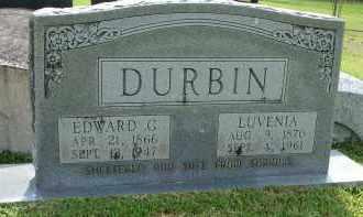 DURBIN, LUVENIA - Livingston County, Louisiana | LUVENIA DURBIN - Louisiana Gravestone Photos