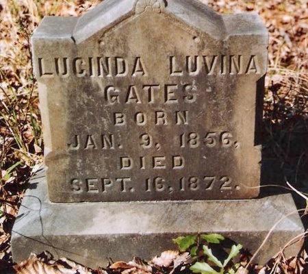 GATES, LUCINDA LUVINA - Livingston County, Louisiana   LUCINDA LUVINA GATES - Louisiana Gravestone Photos