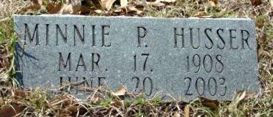 HUSSER, MINNIE P - Livingston County, Louisiana | MINNIE P HUSSER - Louisiana Gravestone Photos
