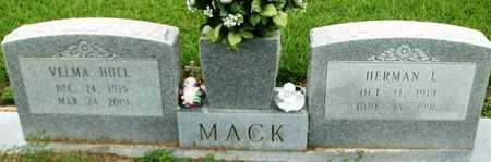 HULL MACK, VELMA - Livingston County, Louisiana   VELMA HULL MACK - Louisiana Gravestone Photos