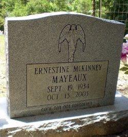 MCKINNEY MAYEAUX, ERNESTINE - Livingston County, Louisiana   ERNESTINE MCKINNEY MAYEAUX - Louisiana Gravestone Photos