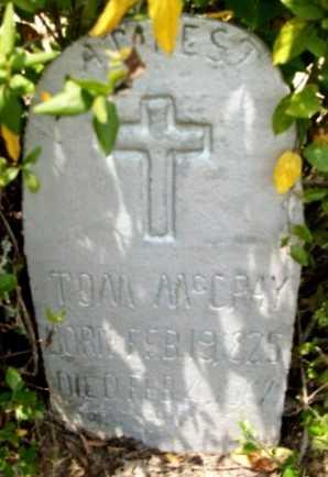 MCCRAY, TOM - Livingston County, Louisiana | TOM MCCRAY - Louisiana Gravestone Photos