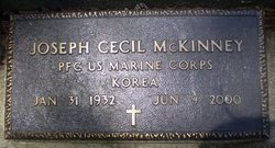 MCKENNEY, JOSEPH CECIL  (VETERAN KOR) - Livingston County, Louisiana   JOSEPH CECIL  (VETERAN KOR) MCKENNEY - Louisiana Gravestone Photos