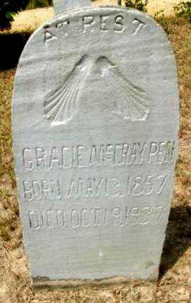 MCCRAY PEN, GRACIE - Livingston County, Louisiana   GRACIE MCCRAY PEN - Louisiana Gravestone Photos