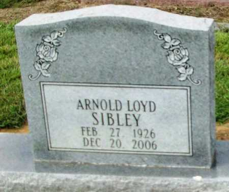 SIBLEY, ARNOLD LOYD - Livingston County, Louisiana | ARNOLD LOYD SIBLEY - Louisiana Gravestone Photos