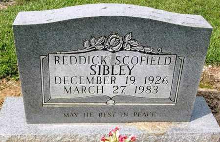 SIBLEY, REDDICK SCOFIELD - Livingston County, Louisiana | REDDICK SCOFIELD SIBLEY - Louisiana Gravestone Photos