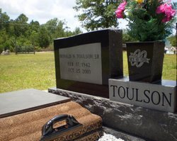 TOULSON, DONALD N, SR - Livingston County, Louisiana   DONALD N, SR TOULSON - Louisiana Gravestone Photos