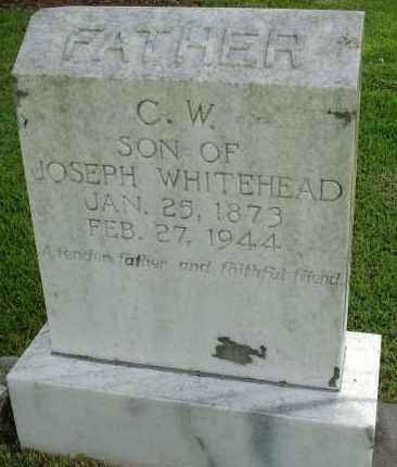 WHITEHEAD, CALVIN W. - Livingston County, Louisiana   CALVIN W. WHITEHEAD - Louisiana Gravestone Photos